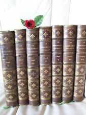 LE BIBLIOPHILE  FRANCAIS : EDITION COMPLETE ORIGINALE  7 volumes ( 1868-1873