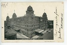 "Antique ""Greetings from Yonkers"" Grand Central NYC Train Depot Station UDB 1905"
