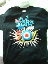 More details for the who hits 50 new cotton t shirt medium 2014 official tour merchandise