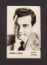 Mario Lanza Vintage 1960 Movie Film Star British FPF Card B