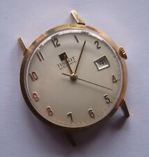 Vintage Tissot Visodate Manual wind - Cal 782-1 18K solid Pink Gold - Working