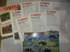 YAMAHA CATALOGUE  QUAD KODIAK 400 BIG BEAR BEAR TRACKER 250 GRIZZLY YFM 600FWA