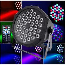 36 Led Rgb Stage Lighting Par Dj Disco Projector Party Lights Uplighting Remote