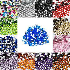 1000 Crystal Flat Back Acrylic Rhinestones Gems Diamond Wedding Party Table Blue 1