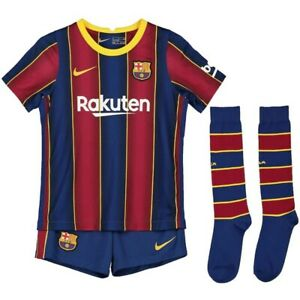 2020 Barcelona Kids Messi 10 Home Kit