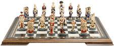 Studio Anne Carlton Chess Battle of Waterloo Handpainted