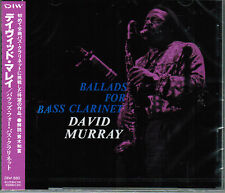DAVID MURRAY Ballads For Bass Clarinet JOHN HICKS*IDRIS MUHAMMAD DIW Jpn OOP CD!