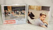 "One Direction Story Of My Life Taiwan CD w/OBI +""Folded"" poster (Little Things)"