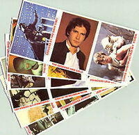 1980 Star Wars Burger King Promo Card Complete Set of 36- Unused