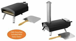 """13"""" Pizza Oven Wood Or Gas Fired, Top Quality, Portable, Table Top, Outdoor Oven"""