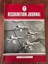 RAF Joint Services magazine, Recognition Journal, September 1973, Military