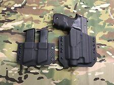 Black Kydex Light Holster SIG P226 Streamlight TLR-2 w/Matching Mag Carrier