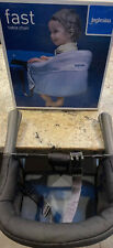 Inglesina Fast Table Chair - Black - Hook On Chair In Original Box