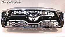 NEW OEM TOYOTA TACOMA 2005-2012 CHROME & BLACK HONEYCOMB GRILLE