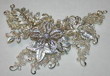 Bridal Crystals, Rhinestones Hair Comb, Wedding Hairpin, Unique Hair Accessory