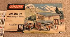 Eheim Brawa 271B Sessellift HO Ski Lift Set With Extra Set Marklin German Boxed