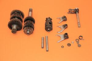1999 99-02 KX250 KX 250 Transmission Gearbox Set Input Output Shaft Forks Shift
