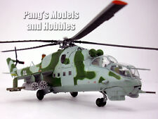 Mil Mi-24 Hind 1/72 Scale Assembled & Painted Plastic Model Helicopter