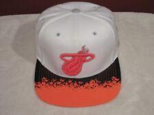 Vintage Miami Heat NBA Mitchell & Ness snapback adjustable cap/hat NEW