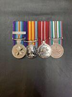 replica medals Vietnam National Service X Set Of 4. #vietnamwar #nasho #veteran