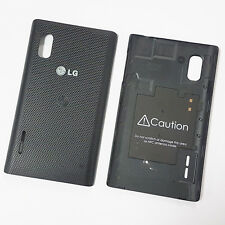 Genuine Original Battery Back Cover For LG Optimus L5 E610 - Black