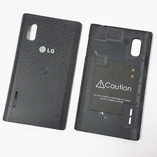Genuino Original batería cubierta trasera para LG Optimus L5 E610-Negro