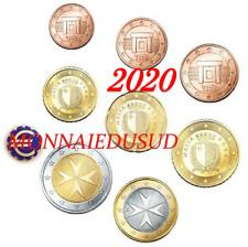 Série 1 Cent à 2 Euro BU Malte 2020 avec Poinçon F - Série Brillant Universel