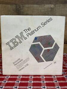 "IBM The Platinum Series Account Receivable 3.5"" & 5.25 Disks  New Sealed Vintage"