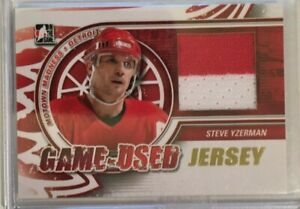 2012-13 ITG Motown Madness: Game-Used Jersey Gold-Steve Yzerman