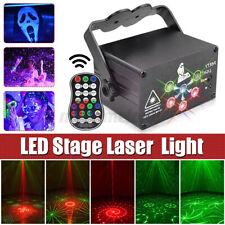 LED 120Pattern Laser Projector RGB Stage Lighting Party KTV DJ Disco Lights Club