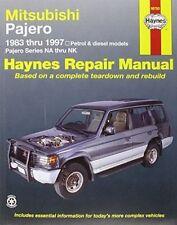Mitsubishi Pajero Petrol & Diesel Haynes Repair Manual: 83-97 (Paperback)