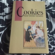 Cookies Food Writers' Favorites 1991 Cookbook Dial MADD Fundraiser E8