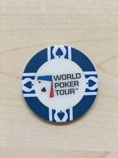 BLUE WORLD POKER TOUR WPT CASINO CHIP