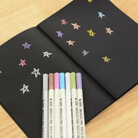 56K Black Paper Sketch Book Diary for Drawing Painting Graffiti W/ Soft Cover SD