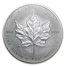 2004 Canada 1 oz Silver Maple Leaf Lunar Monkey Privy - SKU #25810