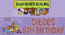 12 Personalised Birthday Party Lolly / Loot Bags with Scooby Doo Print