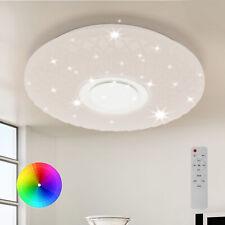 Led 60W Deckenleuchte Lampe mit Fernbedienung und Bluetooth Lautsprecher Dimmbar