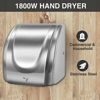 1800W Commercial and Household High Speed Auto Electric Hand Dryer