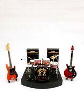 QUEEN Freddie Mercury Roger Taylor Brian May Miniature Drum Complete set MiniArt