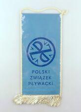 #e6386 Original Old Pennant Polski zwiazek plywacki Poland