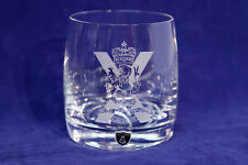 The Royal Regiment of Scotland - Whisky/Spirits Glasses in silk-lined gift box.