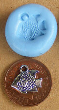 Reusable Fish Silicone Mould, Mold, Sugarcraft, Jewellery, Card Topper Food Safe