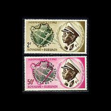 Burundi, Sc #45-46, MNH, 1963, Peaceful use of space, CL93F3