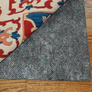 """DuraHold - DuraHold Plus - 1/4"""" Thick - Felt and Rubber - Patented Non-Skid Rug"""