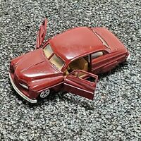 Ertl 1950 Mercury Burgandy 1:64 Diecast