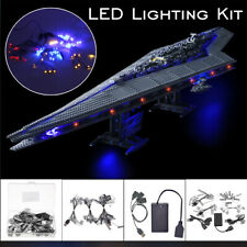 ONLY LED Light Lighting Kit For LEGO 10221 Star Wars Super Star Destroyer  g