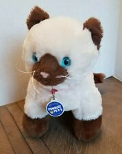 "Build A Bear Promise Pets Siamese Himalayan Brown Kitty Cat 12"" Collar Plush Toy"