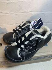 NEW Skechers Bobs Beach Bingo 2 Women's Black Faux Fur Trainers Size UK 3.5