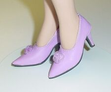 "Doll Shoes, Monique Gold 48mm LT PURPLE  ""My Fair Lady"" for Tyler, Sybarite"