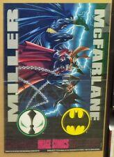 Batman Spawn Promo Poster Todd McFarlane Frank Miller Image Comics 1994 AL